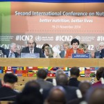 البلدان تتعهد بالتصدي لسوء التغذية في المؤتمر التغذية الدولي الثاني