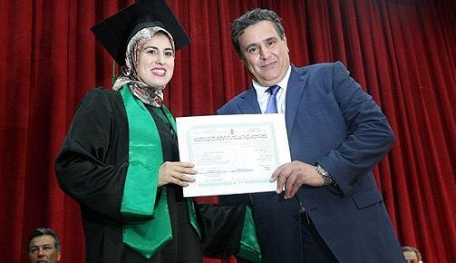 وزير الفلاحة  يشرف بالمدرسة الوطنية للفلاحة بمكناس على تسليم الدبلومات لخريجي الفوج 67