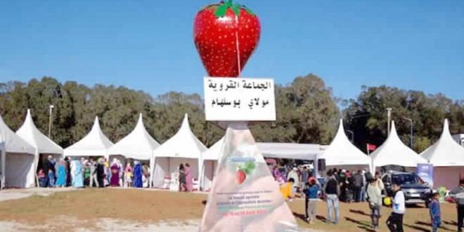 المغــــــرب يحتفي بعروس الفواكه الحمــــــــراء