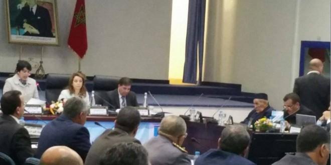 عقد المجلس الاداري لوكالة الحوض المائي لسوس ماسة و درعة برسم الدورة الثانية