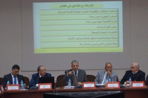 الحسين أمزال عامل إقليم تارودانت يترأس لقاءا تواصليا حول قضايا الفلاحة بالإقليم