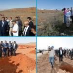 وزير الفلاحة السيد عزيز أخنوش بالحسيمة لمتابعة المشاريع الفلاحية