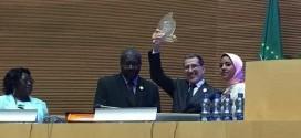 تتويج المغرب من قبل الاتحاد الإفريقي في قمته الثلاثين
