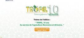 تنظيم الدورة العاشرة للجائزة الوطنية للخضر والفواكه تروفيل 2019 بأكادير يوم 10 يناير 2019